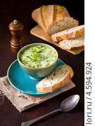 Купить «Суп овощной со сливками», фото № 4594924, снято 5 мая 2013 г. (c) Eve Voevoda / Фотобанк Лори