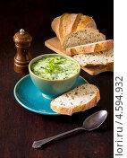 Купить «Суп овощной со сливками», фото № 4594932, снято 5 мая 2013 г. (c) Eve Voevoda / Фотобанк Лори