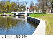 Купить «Набережная Верхнего озера. Калининград», фото № 4595860, снято 6 мая 2013 г. (c) Сергей Куров / Фотобанк Лори