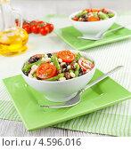 Купить «Теплый фасолевый салат», фото № 4596016, снято 6 мая 2013 г. (c) Надежда Мишкова / Фотобанк Лори