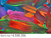 Купить «Разводы краской. Абстрактный цветной фон», фото № 4598356, снято 19 августа 2012 г. (c) Степанов Григорий / Фотобанк Лори