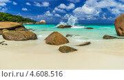 Пляж на сейшельских островах. Стоковое фото, фотограф Воевудский Евгений / Фотобанк Лори