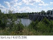 Сызранская гидроэлектростанция на реке Сызранке. Стоковое фото, фотограф Бочкарева Лариса / Фотобанк Лори