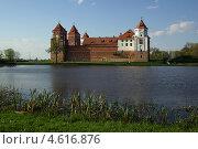 Купить «Мирский замок, Беларусь», фото № 4616876, снято 5 мая 2013 г. (c) Natalya Sidorova / Фотобанк Лори
