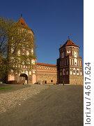 Купить «Мирской замок, Беларусь», фото № 4617624, снято 5 мая 2013 г. (c) Natalya Sidorova / Фотобанк Лори