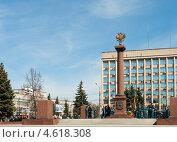 Купить «Тверь. Площадь Пушкина», фото № 4618308, снято 9 мая 2013 г. (c) Бурмистрова Ирина / Фотобанк Лори