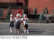 Купить «Съемки фильма на Красной площади в Москве», фото № 4621532, снято 8 июля 2012 г. (c) Stockphoto / Фотобанк Лори