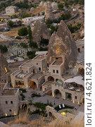 Купить «Гостиницы в пещерах в городке Гореме, Турция», фото № 4621824, снято 29 июля 2007 г. (c) Stockphoto / Фотобанк Лори