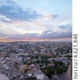 Купить «Панорама городка Гореме, Турция», фото № 4621848, снято 29 июля 2007 г. (c) Stockphoto / Фотобанк Лори