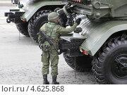 Военная техника на параде. Стоковое фото, фотограф Андрей Спицын / Фотобанк Лори