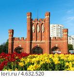 Купить «Королевские ворота. Калининград», фото № 4632520, снято 15 мая 2013 г. (c) Сергей Куров / Фотобанк Лори