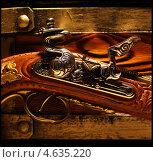 Кремниевый пистоль. Стоковое фото, фотограф Фёдоров Евгений / Фотобанк Лори
