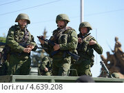 Купить «Парад в честь Дня Победы в Севастополе, 9 мая 2013 года», фото № 4639208, снято 9 мая 2013 г. (c) Stockphoto / Фотобанк Лори