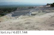 Купить «Панорама Памуккале, Турция», видеоролик № 4651144, снято 20 мая 2013 г. (c) Михаил Коханчиков / Фотобанк Лори