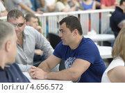 Рахим Чакхиев. Олимпийский чемпион по боксу,  профессиональный  боксер (2012 год). Редакционное фото, фотограф Марат Лялин / Фотобанк Лори