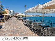 Купить «Набережная в городе Иерапетра. Крит, Греция», фото № 4657100, снято 27 июля 2011 г. (c) Andrei Nekrassov / Фотобанк Лори