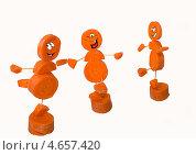 Фигурки из кружочков свежей моркови. Стоковое фото, фотограф Елена Заммоева / Фотобанк Лори