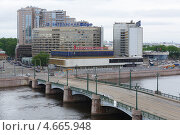 Купить «Сампсониевский мост в Санкт-Петербурге», фото № 4665948, снято 26 мая 2013 г. (c) Андрей Жухевич / Фотобанк Лори