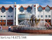 Купить «Центр искусств для одарённых детей Севера в Ханты-Мансийске», эксклюзивное фото № 4673144, снято 25 мая 2013 г. (c) Владимир Мельников / Фотобанк Лори