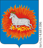 Купить «Герб города Каргополя», иллюстрация № 4681096 (c) VectorImages / Фотобанк Лори