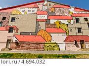 Разукрашенный дом (2013 год). Редакционное фото, фотограф Денис Карелин / Фотобанк Лори