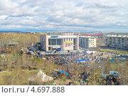 Город Краснокаменск, панорама города, 9 мая 2013 года, эксклюзивное фото № 4697888, снято 9 мая 2013 г. (c) Геннадий Соловьев / Фотобанк Лори