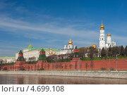 Купить «Москва. Вид на Кремль», эксклюзивное фото № 4699108, снято 9 мая 2013 г. (c) Литвяк Игорь / Фотобанк Лори