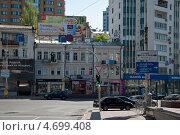 Улица Бассейная, Киев, Украина (2013 год). Редакционное фото, фотограф Ekaterina Shustrova / Фотобанк Лори