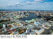Купить «Екатеринбург. Вид сверху», фото № 4704916, снято 11 мая 2013 г. (c) Александр Лядов / Фотобанк Лори