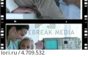 Купить «Montage of several situations in a hospital», видеоролик № 4709532, снято 19 ноября 2017 г. (c) Wavebreak Media / Фотобанк Лори
