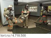 Купить «Учения пожарных по эвакуации пострадавших», фото № 4718500, снято 3 июня 2013 г. (c) Александр Пуненко / Фотобанк Лори