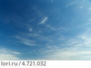 Небо с облаками. Стоковое фото, фотограф Alexandr Banshikov / Фотобанк Лори
