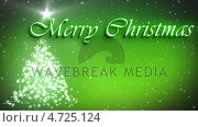 Купить «Merry Christmas animation with decorated tree and stars», видеоролик № 4725124, снято 31 мая 2020 г. (c) Wavebreak Media / Фотобанк Лори