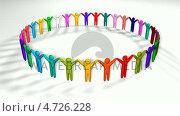 Купить «Diverse Group of people holding hands», видеоролик № 4726228, снято 19 июня 2019 г. (c) Wavebreak Media / Фотобанк Лори