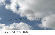 Купить «Time Lapse of Clouds moving», видеоролик № 4728160, снято 16 июля 2019 г. (c) Wavebreak Media / Фотобанк Лори