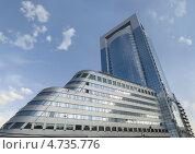 Современное офисное здание в Москве. Редакционное фото, фотограф Дмитрий Лифанов / Фотобанк Лори