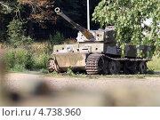 Старый танк «Тигр» (2012 год). Редакционное фото, фотограф Стряпцев Вячеслав / Фотобанк Лори