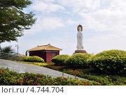 Купить «Китай. Центр «Наньшань». Статуя Гуаньинь», фото № 4744704, снято 20 февраля 2013 г. (c) Голованов Сергей / Фотобанк Лори