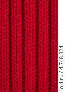 Купить «Текстура красной шерстяной ткани», фото № 4748324, снято 15 октября 2019 г. (c) Marina Appel / Фотобанк Лори