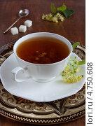 Чай с липой. Стоковое фото, фотограф Лидия Шляховская (Lidia Sleahovscaia) / Фотобанк Лори