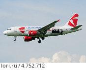 Купить «Airbus A319 (бортовой OK-OEL) авиакомпании CSA с рекламой Instaforex на посадке в Шереметьево», эксклюзивное фото № 4752712, снято 8 июня 2013 г. (c) Alexei Tavix / Фотобанк Лори