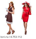 Купить «Модная современная женщина», фото № 4753112, снято 9 июня 2013 г. (c) katalinks / Фотобанк Лори