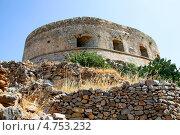 Крепость на греческом острове Спиналонга. Стоковое фото, фотограф Анатолий Баранов / Фотобанк Лори