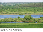 Купить «Река Березина летом, Беларусь», фото № 4760916, снято 2 июня 2013 г. (c) Марина Шатерова / Фотобанк Лори