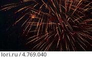 Купить «Праздничный салют на День Победы», видеоролик № 4769040, снято 12 мая 2013 г. (c) Игорь Жоров / Фотобанк Лори