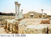 Купить «Херсонес Таврический. Руины», фото № 4786888, снято 16 ноября 2012 г. (c) Типляшина Евгения / Фотобанк Лори