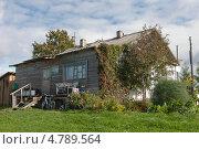Купить «Дом в деревне», фото № 4789564, снято 8 сентября 2012 г. (c) Цветков Виталий / Фотобанк Лори
