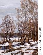 Купить «Ранняя весна», иллюстрация № 4793048 (c) Евгения Фашаян / Фотобанк Лори