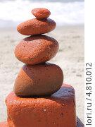Купить «Башня из обтесанных морем кирпичиков», эксклюзивное фото № 4810012, снято 15 июня 2013 г. (c) Ната Антонова / Фотобанк Лори
