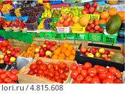 Фрукты и овощи на рынке (2013 год). Редакционное фото, фотограф Рустам Гилязутдинов / Фотобанк Лори